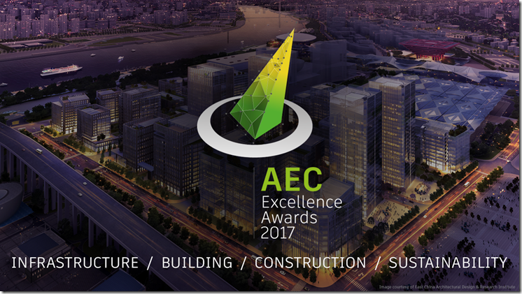 AEC Excellence 2017 Awards Hero Image with Logo and Categories