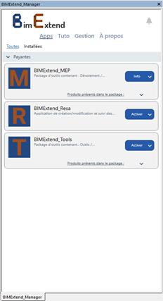 BIMExtend_Manager